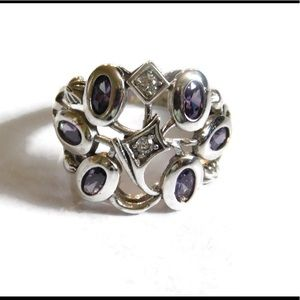 nejd Jewelry - ❗️sale❗️925 Sterling Silver Amethyst Ring