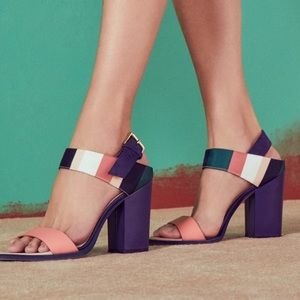 Ted Baker Shoes - Ted Baker 'Uneki' Block Heeled Buckle Sandals