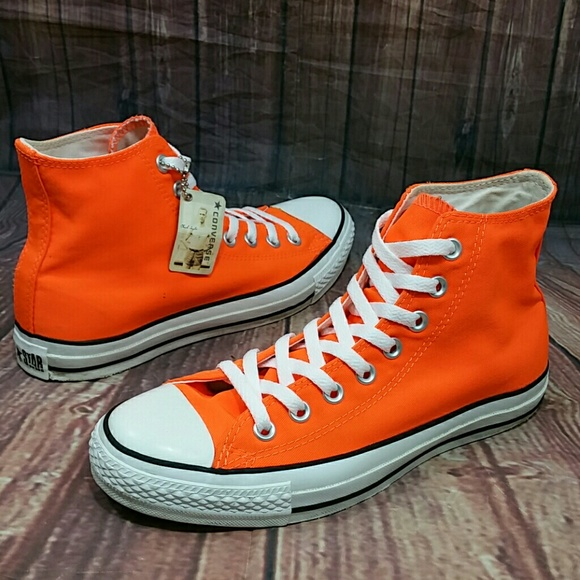 Converse Shoes - CONVERSE CT All Star Hyper Orange HIGH TOP Wo s 9 b3798cad6