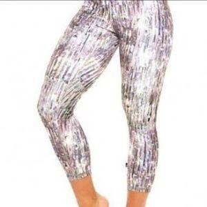"""Zara Terez Pants - Iridescent """"Crystalized"""" Zara Terez Capri Leggings"""
