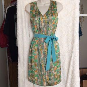 Robbie Bee Dresses & Skirts - Geometric Print Dress