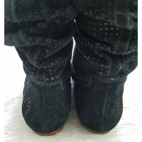 53 ugg shoes ugg australia black slouchy suede