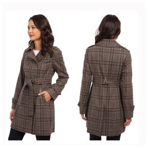 DKNY Double Breasted Peacoat Size 4 New