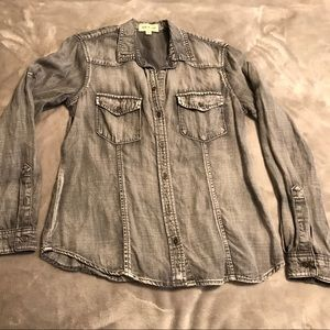 Cloth&Stone from Anthropologie Denim Shirt