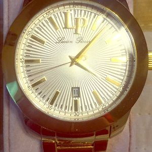 Lucien Piccard Accessories - Lucien Picard GOLD watch