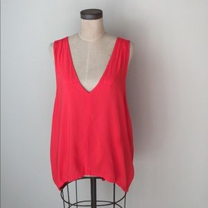 piko 1988 Tops - Piko 1988 high low loose fit tank