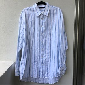 Burberry Other - Burberry Men's Striped Button Down Shirt size XL