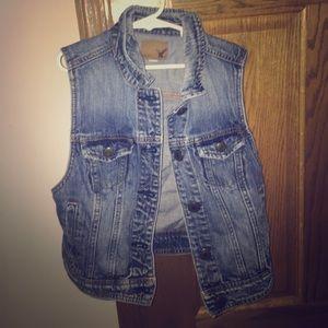 American Eagle Outfitters Jackets & Blazers - American Eagle Denim Jean Vest