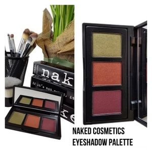Naked Cosmetics Other - NAKED COSMETICS 3 Shade Eyeshadow Palette NIB