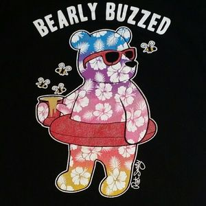 riot society Tops - Bearly Buzzed Tshirt