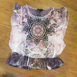 Design Works Tops - Gorgeous, like new blouse