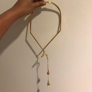 eddie borgo Jewelry - Eddie Borgo structured hanging rose necklace