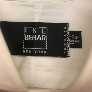 IKE BEHAR Other - Men's whtTUXEDO shirt 16 1/2 x 34 with French Cuff