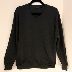 Claiborne Other - V-Neck Charcoal Dress Sweater