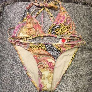 OndadeMar Other - Ondademar paisley crystal 2 piece swimsuit