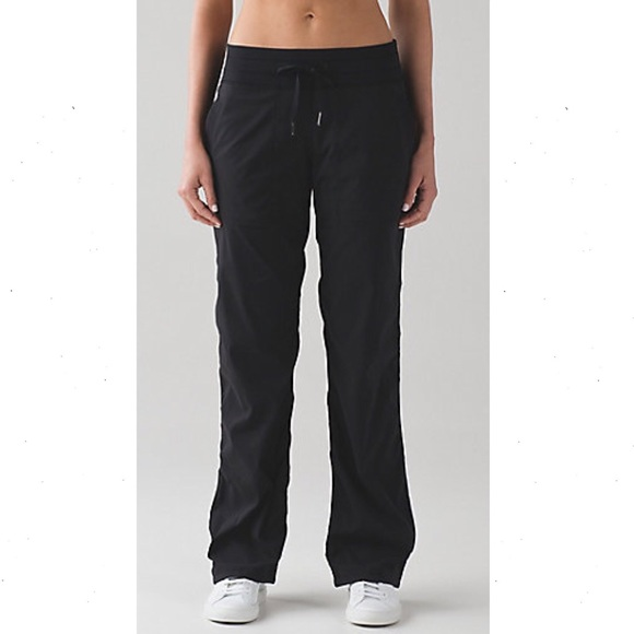 de929c7b0f lululemon athletica Pants - Lululemon Black Dance Studio Pant III (Regular)