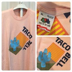 Vtg Taco Bell Cactus Tee