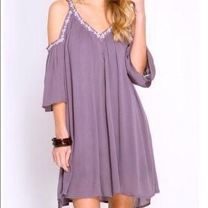Purple She & Sky dress