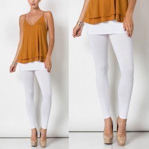 ARACELI skirt leggings - WHITE