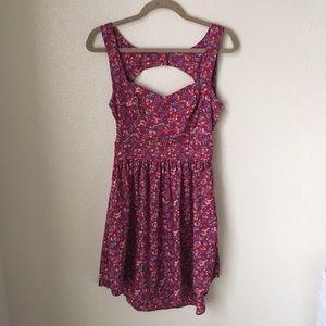 O'Neill Dresses & Skirts - O'Neill Open Back Floral Dress
