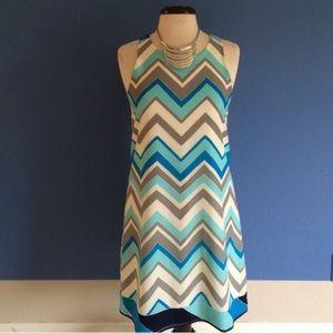 Julie Brown Dresses & Skirts - Julie Brown Chevron Dress