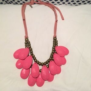 Jewelry - Two tier pink bubble necklace