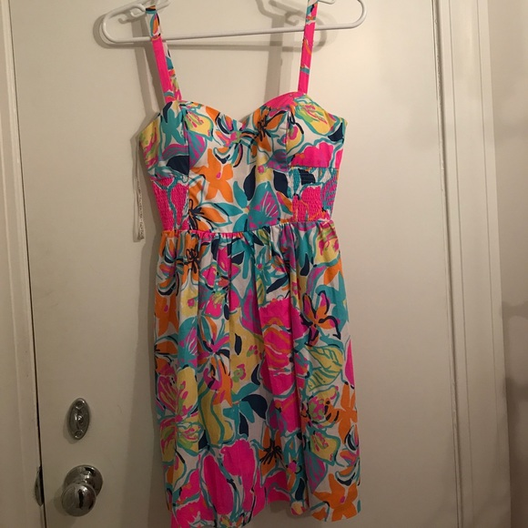 87bcb553cead85 Lilly Pulitzer Dresses & Skirts - Lilly pulitzer besame mucho sundress