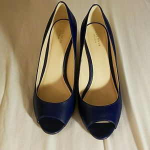 Cole Haan Shoes - Size 10 Cole Haan Blue Wedges!