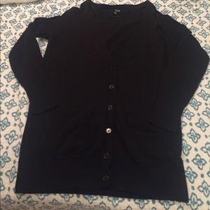 Black Cardigan Large