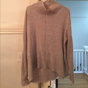 Sweet Romeo Sweaters - Oversized, slouch turtleneck sweater