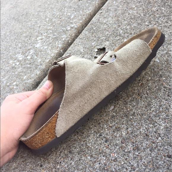 43 off birkenstock shoes taupe suede arizona. Black Bedroom Furniture Sets. Home Design Ideas