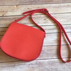 Cooperative Handbags - Cooperative red orange crossbody purse