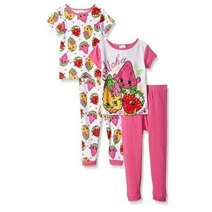 shopkins  Other - Shopkins Girls Aloha 4 Piece Pajama Set