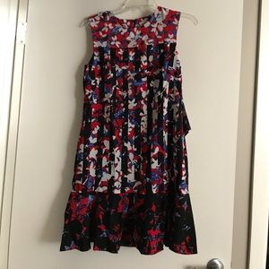 Peter Pilotto   Red Floral Dress