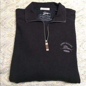 Tommy Bahama Other - Black 1/4 zip Tommy Bahama sweater