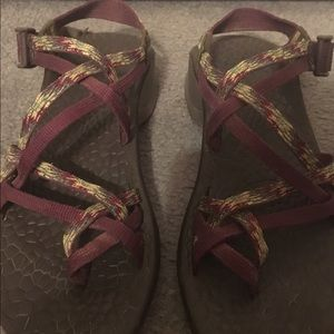 Chacos Shoes - Rare purple/green Chacos