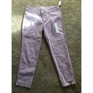 Old Navy Lavender Pixie Pants!