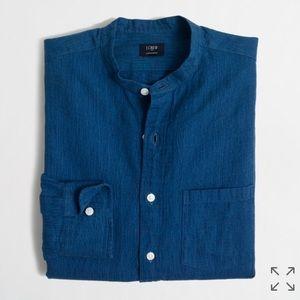 J. Crew Other - J. Crew Slim Fit Linen Shirt