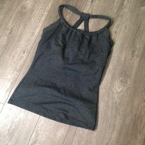 Prana Tops - Gray PrAna Workout top size small