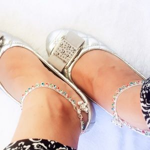 Jewelry - Multicolor Rhinestone Anklets