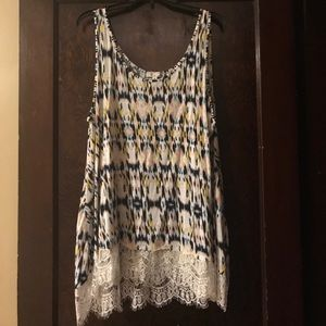 Tops - All At Once size 2X tank top