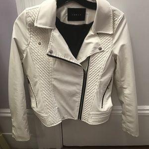 Blank NYC Jackets & Blazers - BLANK NYC white leather jacket KIDS XL