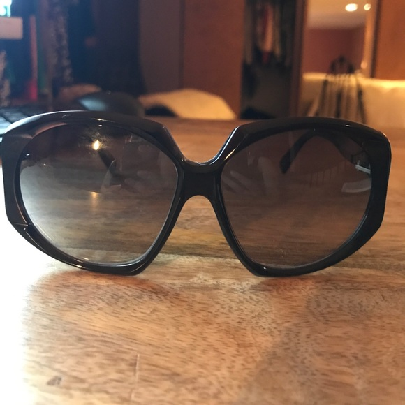 1c27bebbe49 Marni MA114S Black Oversized Sunglasses. M 591a65134e95a3587d1302a9. Other  Accessories ...
