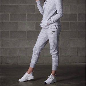 Nike Pants - Nike Heathered Jersey Knit Jogger Pants