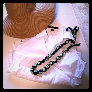 Express Tops - 40% off 2Day👍Express White Dress shirt sleeveless
