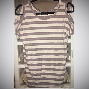 Tops - COLD SHOULDER TEE SHIRT SIZE SMALL