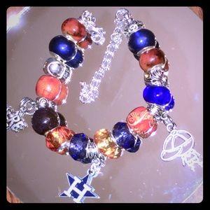 Jewelry - Houston Astros charm bracelet.