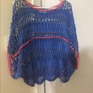 Umgee crocheted sweater