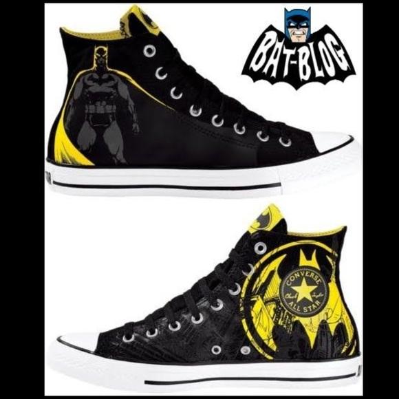 Converse Shoes | Limited Edition Batman