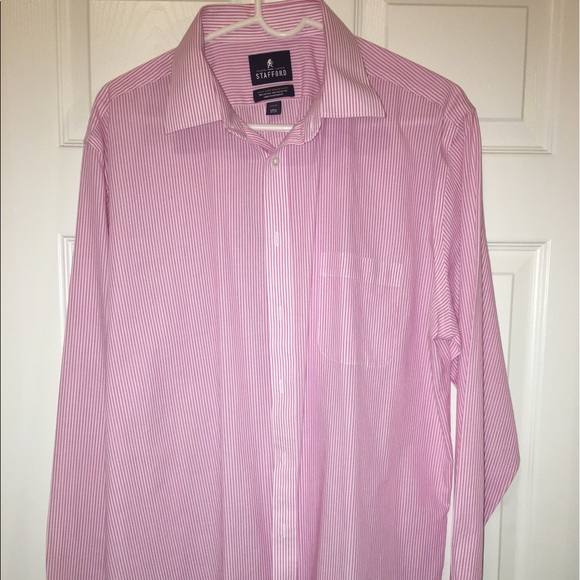 64 off stafford other stafford easy care broadcloth for Stafford dress shirts fitted